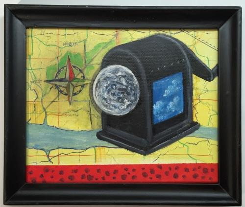 Whirled Traveler 8x10